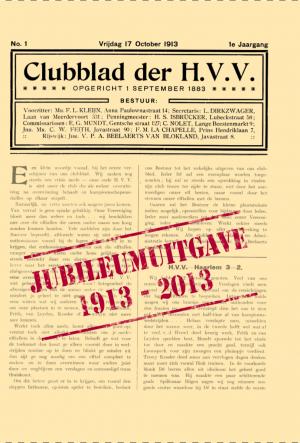 Jubileumuitgave van het clubblad 1913-2013