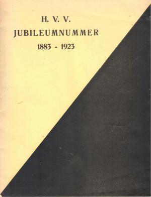 H.V.V. Jubileumnummer 1883-1923