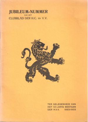 Jubileumnummer van het Clubblad der H.C. en V.V. ter gelegenheid van het 50-jarig bestaan der H.V.V. (1883-1933)