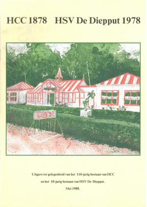 Uitgave ter gelegenheid van het 110-jarig bestaan van HCC en het 10-jarig bestaan van HSV De Diepput (1988)