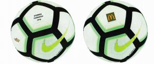 Sponsor het HVV Sterrentoernooi. Koop een wedstrijdbal!