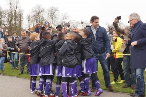 RSC Anderlecht wint bij de F-jeugd het Sterrentoernooi