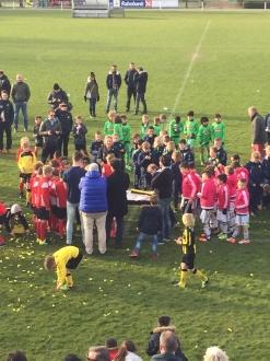 AFC, trotse winnaars bij de U10